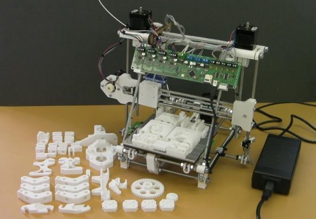 części drukarki trójwymiarowej